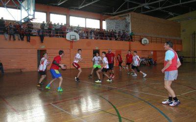 Košarka učitelji – učenci