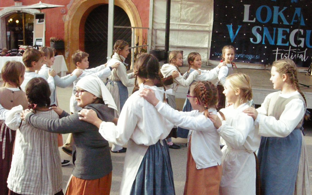 Mladi plesalci nastopili na LUFTu