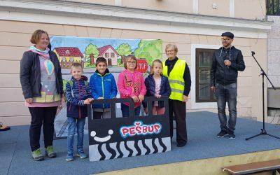 Zaključek projekta PEŠBUS s podelitvijo nagrad